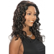 ALICIA CAREFREE, Human Hair  Lace Front Wig, H/H CALISTA