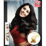 Bohyme Fusion 100% Remi Human Hair Extension I-TIPS, BODY WAVE 14 inch 60pcs