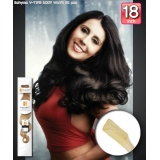 Bohyme Fusion 100% Remi Human Hair,  BODY WAVE 18inch(V-Tip)
