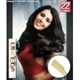 Bohyme Fusion 100% Remi Human Hair Weave, BODY WAVE v-Tip 22inch