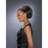 ALICIA CAREFREE, Synthetic Drawstring Ponytail, 12-BOB D/S