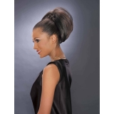 ALICIA CAREFREE, Synthetic Drawstring Ponytail, 6-BOB D/S