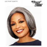 ALICIA FOXY SILVER, Synthetic Lace Front Wig, Jeanette