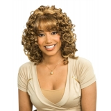 ALICIA CAREFREE, Synthetic Wig, AMBER