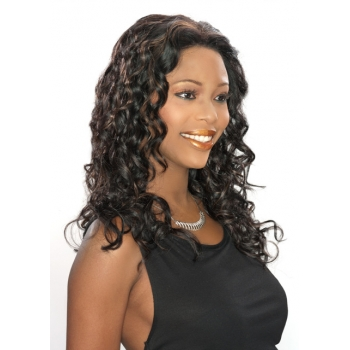 ALICIA CAREFREE, Remy Hair Magic Lace Front Wig, H/H AURORA