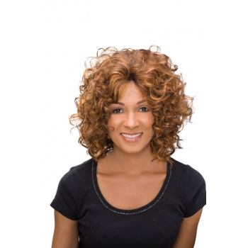 ALICIA CAREFREE, Monofilament Synthetic Half Wig, AVERY