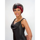 ALICIA CAREFREE, Human Hair Wig, H/H BLUSH