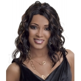 ALICIA CAREFREE, Synthetic Magic Lace Front Wig, BROOK