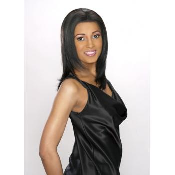 ALICIA CAREFREE, Human Hair Magic Lace Front Wig, H/H CARINA