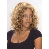 ALICIA CAREFREE, Synthetic Magic Lace Front Wig, CHANTAL