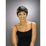 ALICIA CAREFREE, Human Hair Wig, H/H CLAUDIA