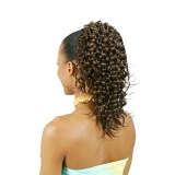 ALICIA CAREFREE, Synthetic Drawstring Ponytail, CRIMP-FLIP D/S