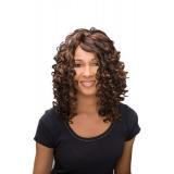 ALICIA CAREFREE, Monofilament Synthetic Half Wig, DAWN