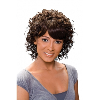 ALICIA CAREFREE, Human Hair Wig, H/H DELORES