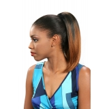 ALICIA CAREFREE, Synthetic Drawstring Ponytail, DIVA D/S