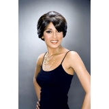 ALICIA CAREFREE, Magic Lace Front Hand Stitched Synthetic Wig, EVAN