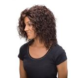 ALICIA CAREFREE, Monofilament Synthetic Half Wig, FELICIA