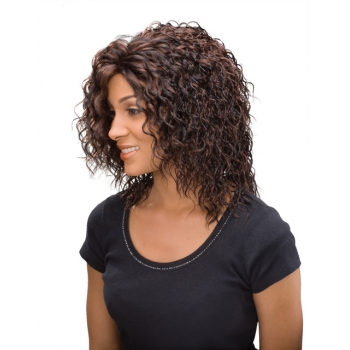 ALICIA CAREFREE, Monofilament Synthetic Half Wig, FELICIA