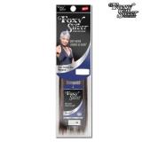 Foxy Silver 100% Human Hair Yaki Weave 10 Inch