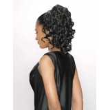 ALICIA CAREFREE, Synthetic Drawstring Ponytail, GEORGIA D/S