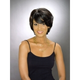 ALICIA CAREFREE, Human Hair Wig, H/H JOVANNA