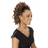 ALICIA CAREFREE, Synthetic Drawstring Ponytail, LOTUS D/S