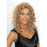 ALICIA CAREFREE, Synthetic Magic Lace Front Wig, MACY