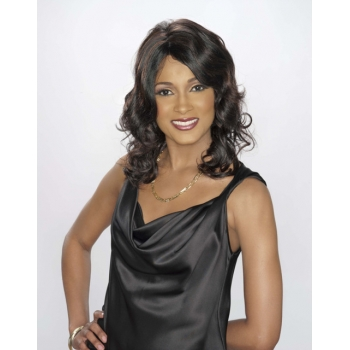 ALICIA CAREFREE, Human Hair Wig, H/H MICHELLE