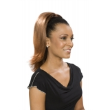 ALICIA CAREFREE, Synthetic Drawstring Ponytail, ORCHID D/S