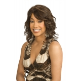 ALICIA CAREFREE, Human Hair Wig, H/H REBECCA