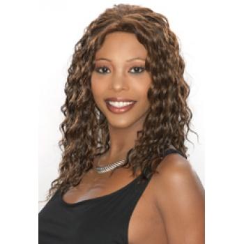 ALICIA CAREFREE, Human Hair Wig, H/H SHERRY
