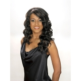 ALICIA CAREFREE, Synthetic Magic Lace Front Wig, WINNIE