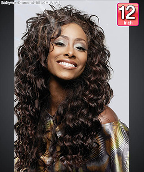 Bohyme Diamond BEACH WAVE 12 - Remi Human Hair Weave
