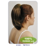 NEW BORN FREE 100% Human Hair Ponytail: TOP PC13/H