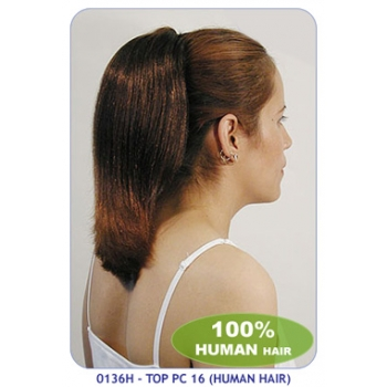 NEW BORN FREE 100% Human Hair Ponytail: TOP PC16/H