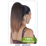 NEW BORN FREE 100% Human Hair Ponytail: TOP PC57/H (0177H)