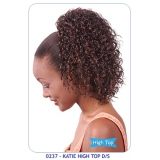 NEW BORN FREE Synthetic Drawstring Ponytail: 0237 KATIE HIGH TOP D/S