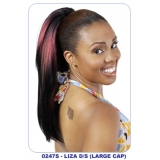 NEW BORN FREE Synthetic Drawstring Ponytail: 0247S LIZA D/S