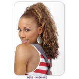 NEW BORN FREE Synthetic Drawstring Ponytail: 0255 NADIA D/S