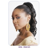 NEW BORN FREE Synthetic Drawstring Ponytail: 0256 RYAN D/S