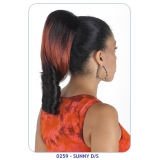 NEW BORN FREE Synthetic Drawstring Ponytail: 0259 SUNNY D/S