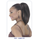NEW BORN FREE Synthetic Drawstring Ponytail: 0267 SAMMY D/S(Lage Cap)