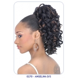 NEW BORN FREE Synthetic Drawstring Ponytail: 0270 ANGELINA D/S