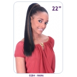 NEW BORN FREE Synthetic Drawstring Ponytail: 0284 NANA D/S