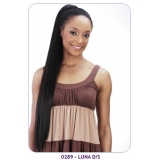NEW BORN FREE Synthetic Drawstring Ponytail: 0289 LUNA D/S