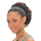 NEW BORN FREE Synthetic DrawString Ponytail: 0300 BLOOMING D/S