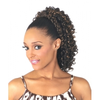 NEW BORN FREE Synthetic Drawstring Ponytail 0304 SHIRLEY D/S