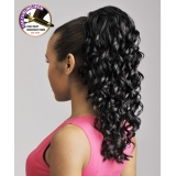NEW BORN FREE Synthetic Drawstring Ponytail: 0319 PROMISE D/S