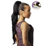 NEW BORN FREE Synthetic Drawstring Ponytail: 0321 PRINCESS D/S