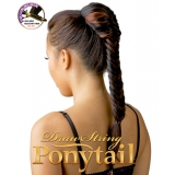 NEW BORN FREE Synthetic Drawstring Ponytail: 0322  FISHTAIL BRAID D/S 01
